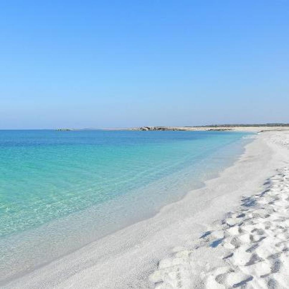 Cala Arena Bianca, incredibile sabbia, sembra talco