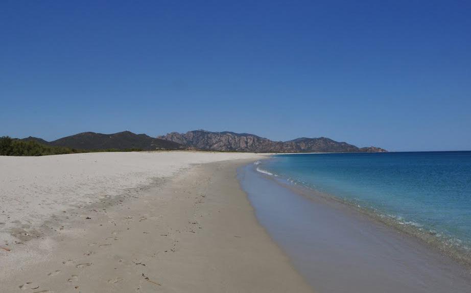 Spiaggia di Quirra o di Murtas , la spiaggia che dà i numeri