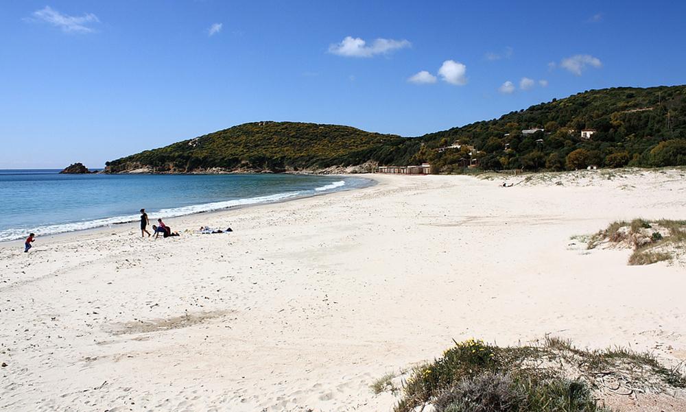 spiaggia di porto tramatzu